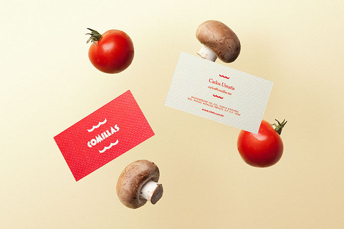 Comic-Like Food Branding
