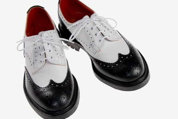 Hipster Saddle Shoes