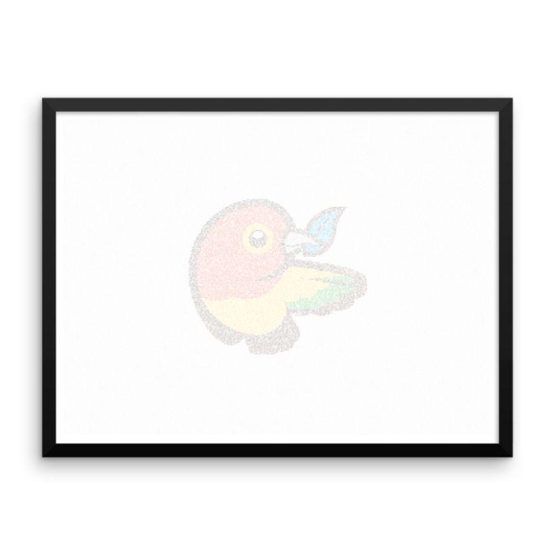 Framed Coding Artworks