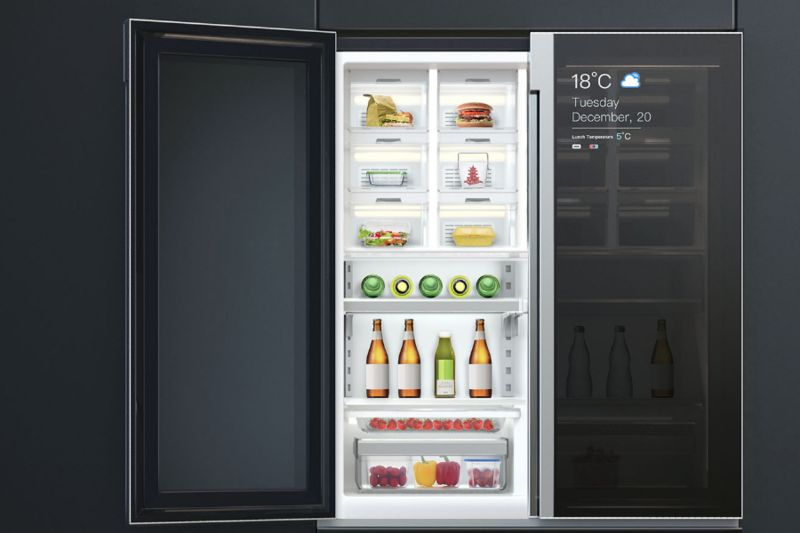 Compartmentalized Communal Fridges