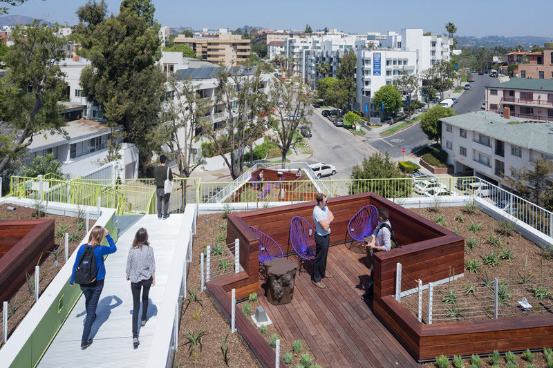 Communal Rooftop Spaces
