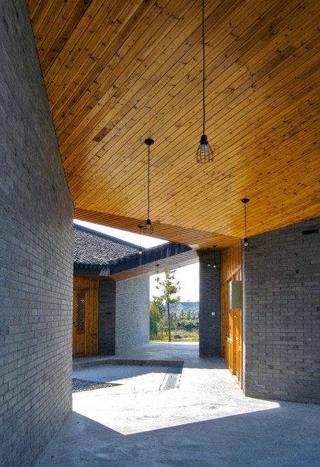 Hexagonal Recreational Pavilions