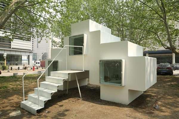 8-Bit Style Compact Dwellings