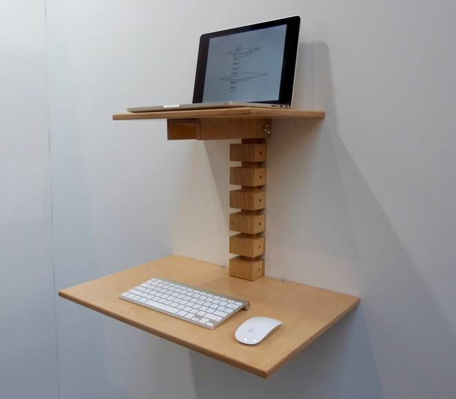 Wall-Mounted Standing Desks