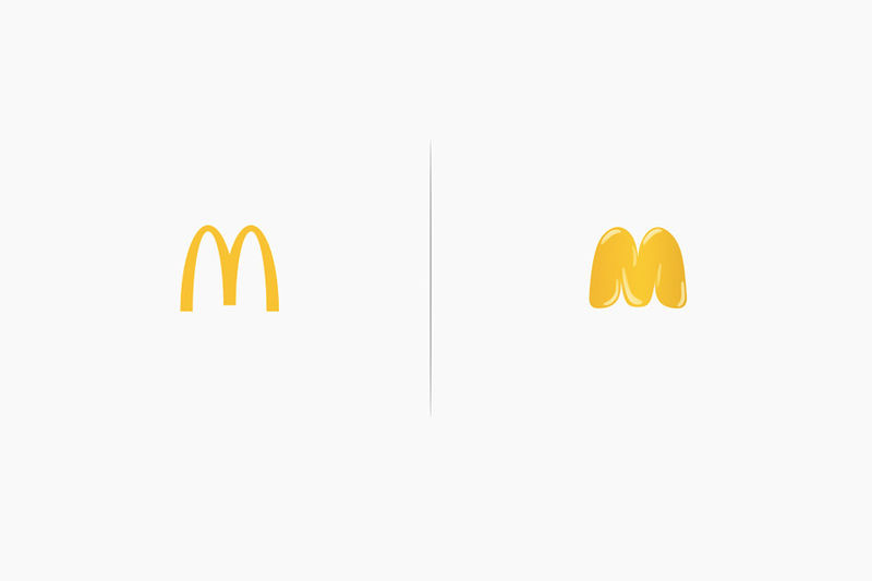 Product-Reflecting Brand Logos