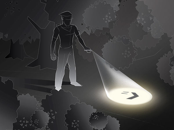 Way-Finding Flashlights