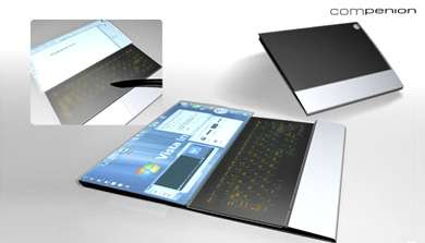 Compenion Laptop Concept