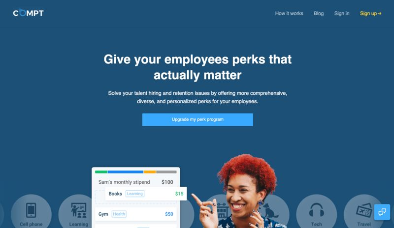 Personalized Employee Perk Platforms