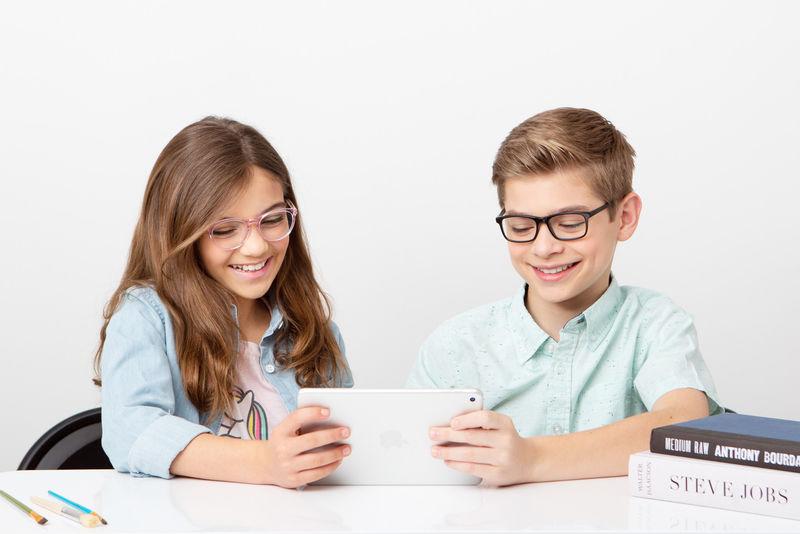 Kid-Friendly Computer Glasses