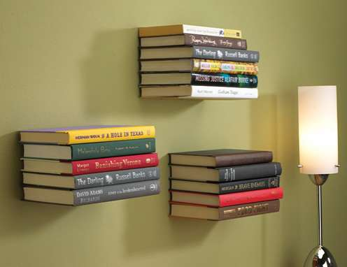 Floating Literature Holders
