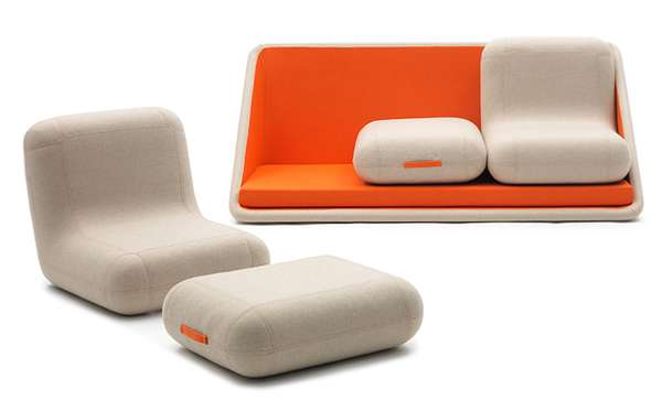 Reconfigurable Contemporary Couches