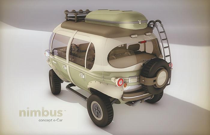 Cartoonish Mini Buses
