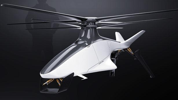 Conceptual Circuit Racing Drones