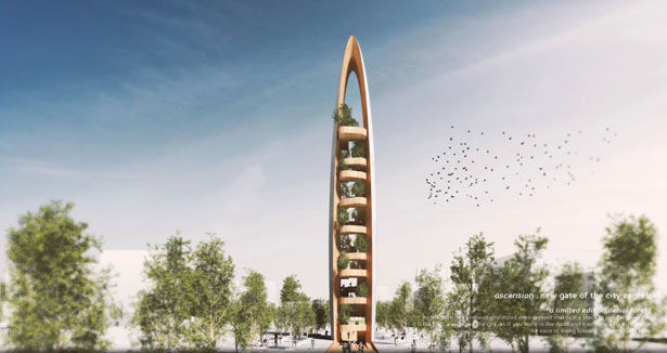Naturalistic European Observation Towers