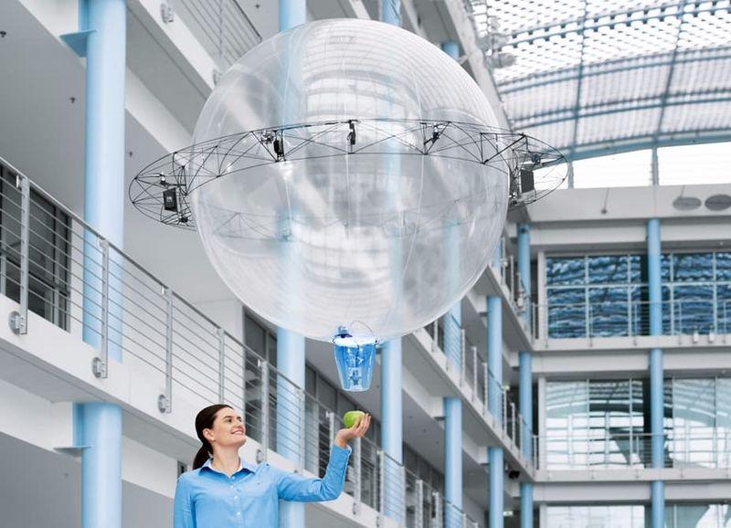 Autonomous Gripping Spheres