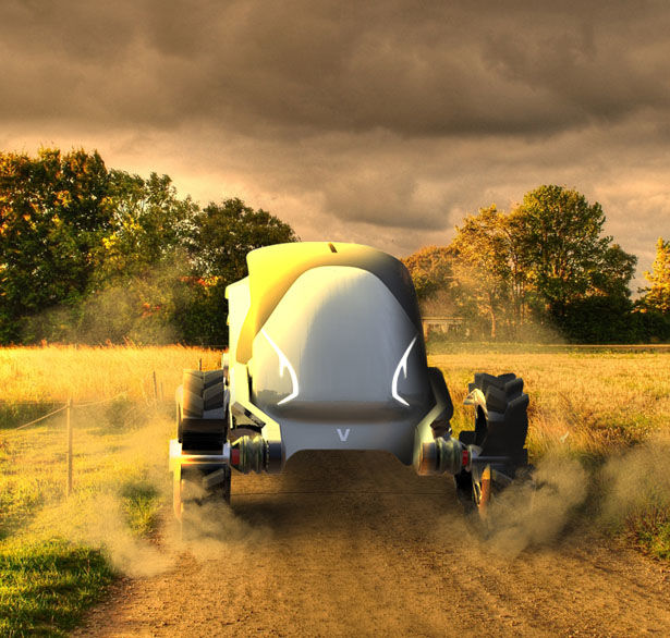Electric AI-Powered Tractors