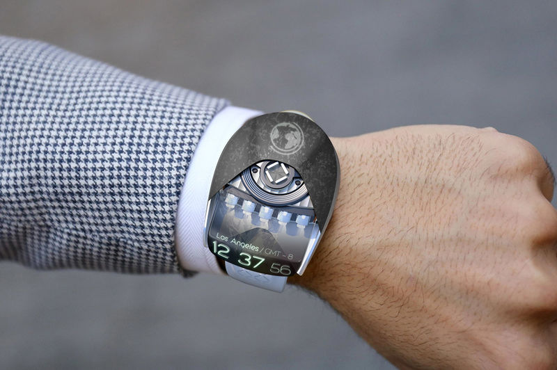 Projection Concept Watches