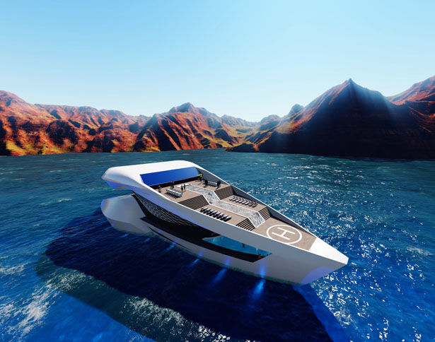 Aerodynamic Travel Boats
