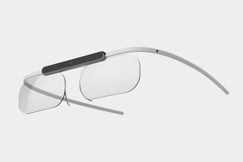 Minimalist Skeletal Smart Glasses