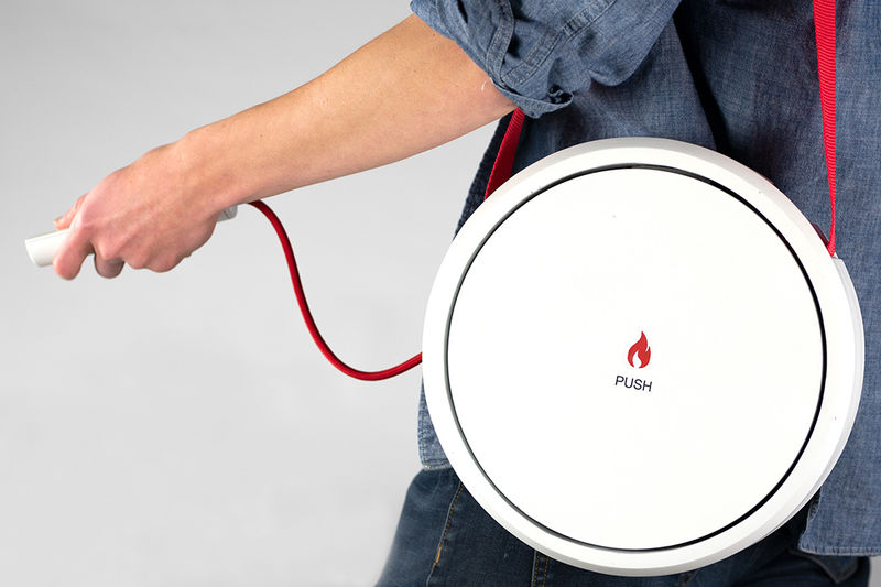 Intuitive Control Fire Extinguishers