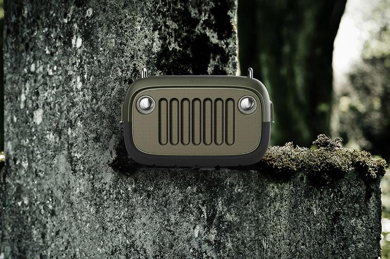 Off-Road Vehicle-Inspired Speakers