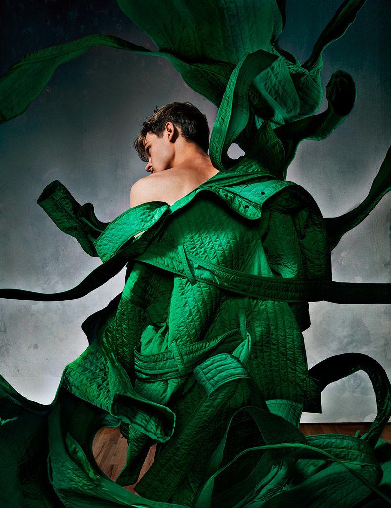 Conceptual Outerwear Editorials