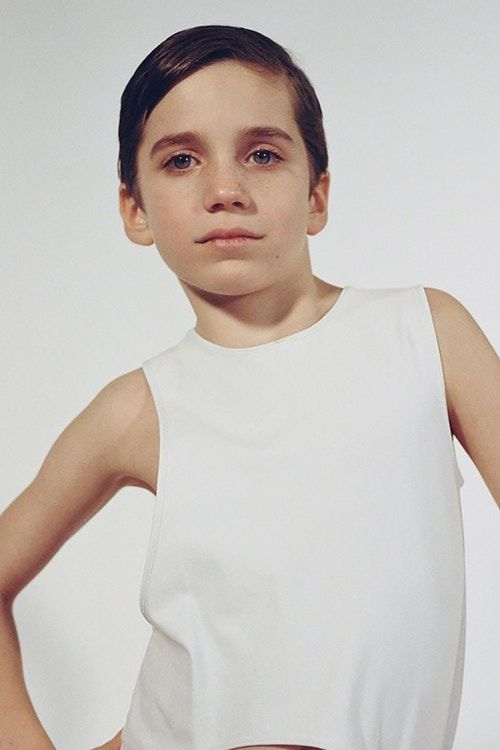 Children-Modeled Clothing Lines