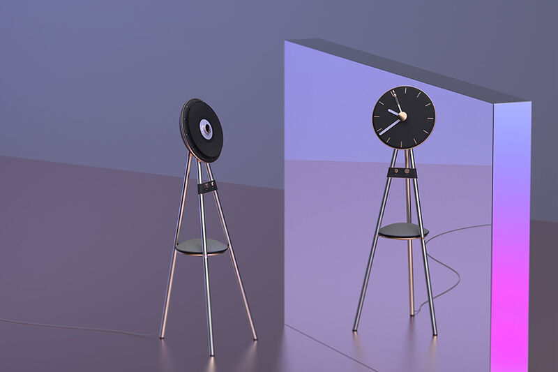 Dual-Function Turntable Clocks