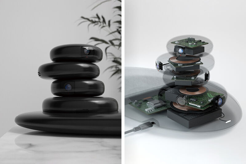 Zen Stone-Inspired IoT Devices