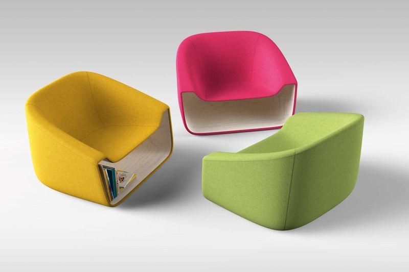 Stylish Storage-Integrated Seating