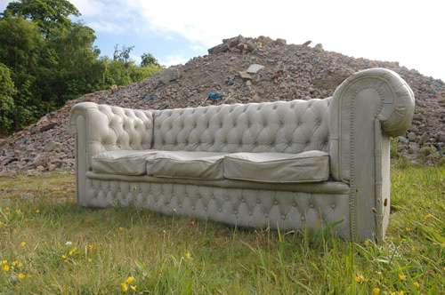 Carved Stone Couches Concrete Chesterfield Sofa