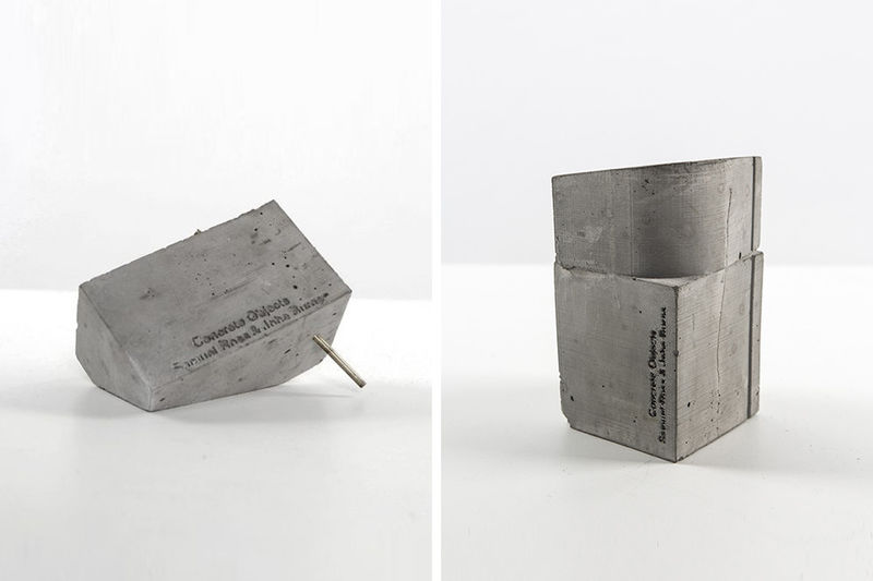 Collaborative Concrete Home Accessories
