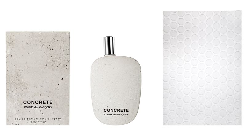 Concrete-Encased Perfumes