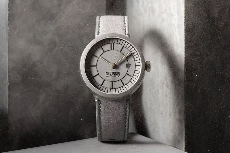 Architectural Concrete Timepieces