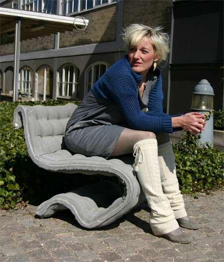 Concrete Cushion Sofas
