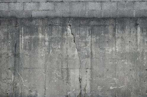 Faux Industrial Walls
