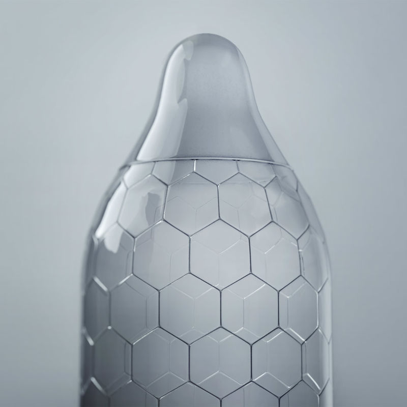 Honeycomb Condom Designs