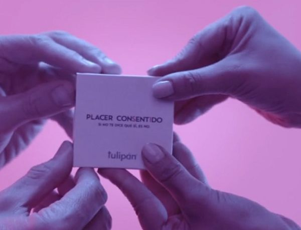 Consent-Focused Condom Packaging