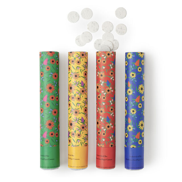 Wildflower Confetti Cannons