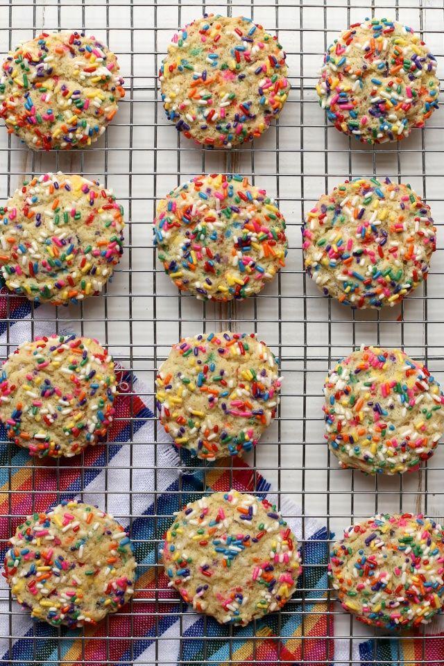 Festive Confetti Cookies