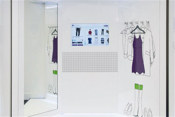 Hyper-Connected Dressing Rooms