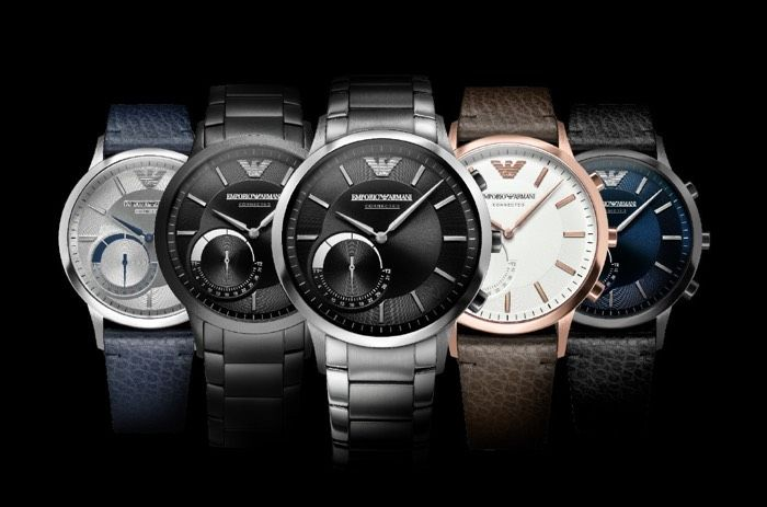 Hybrid Fashion Label Smartwatches