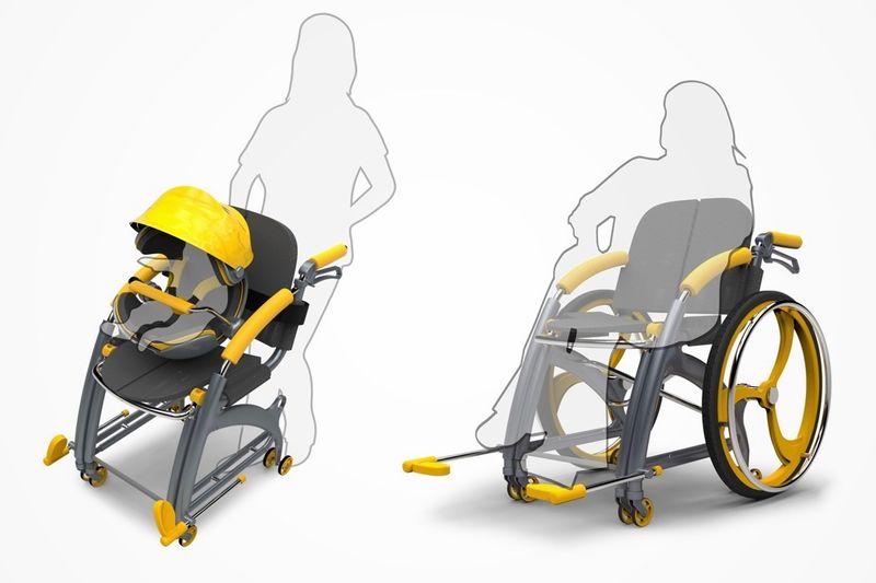 Multifunctional Wheelchair Designs