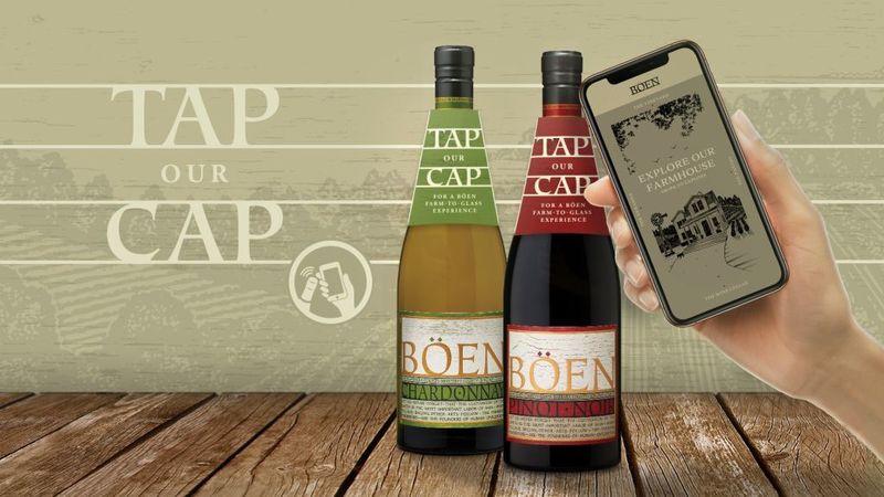 NFC-Enabled Wine Bottles