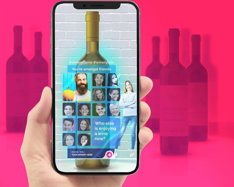 Connected Wine Labels