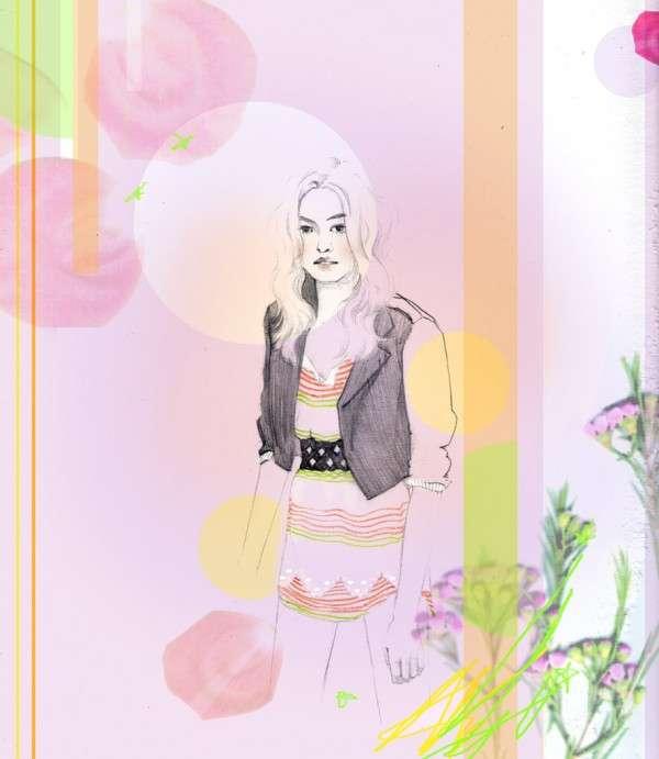 Faint Fashion Illustrations