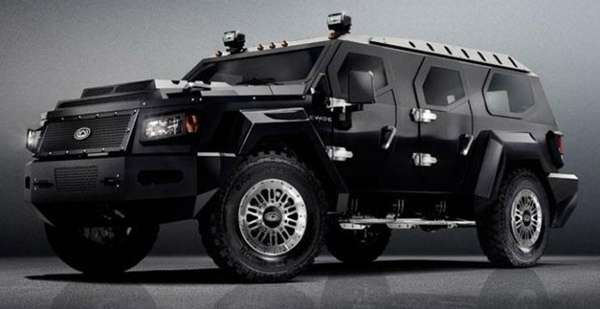 Beastly Geometric Vehicles Conquest Evade Suv
