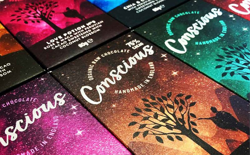 Eco-Friendly Vegan Chocolate Packaging