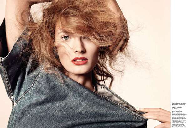 Retro Denim Editorials