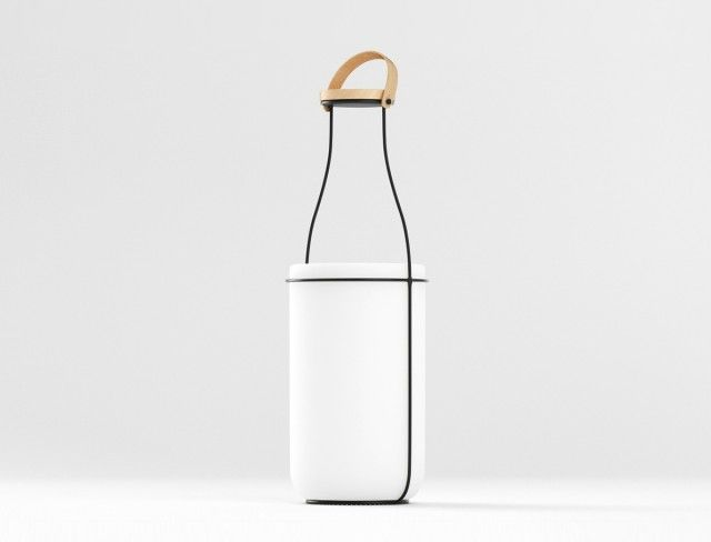 Milk Bottle Lighting